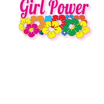 Girl Power Cool Flowers by AhuvaR