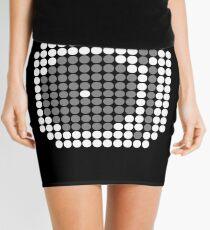 DOTTED DJ MIXER (w) Mini Skirt