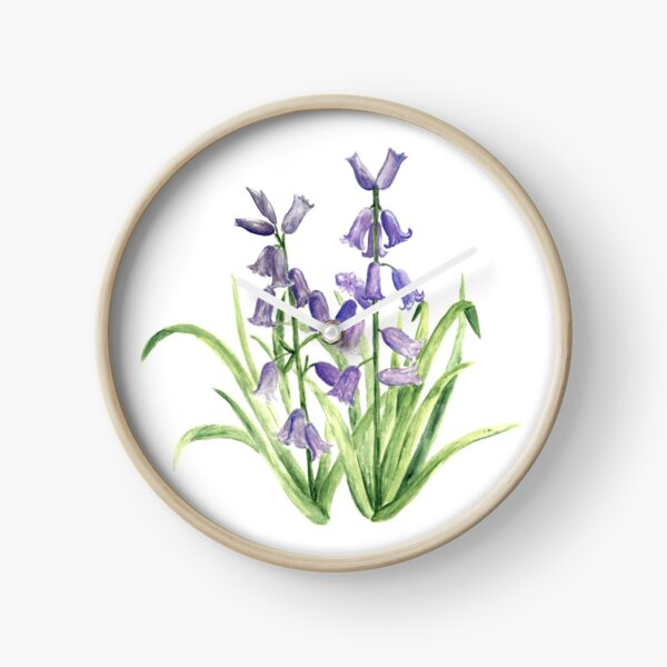Bluebells Clock