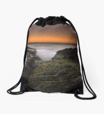 """Remembrance"" ∞ Gerroa, NSW - Australia Drawstring Bag"
