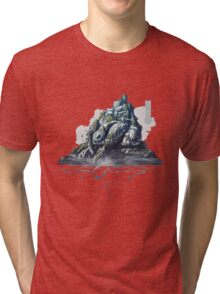 The Game of Kings, Wave Four: The White King's Rook Tri-blend T-Shirt