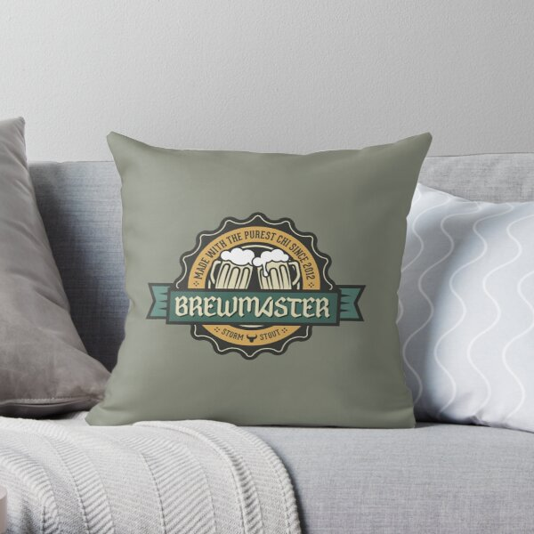 WoW Brand - Brewmaster Monk Throw Pillow