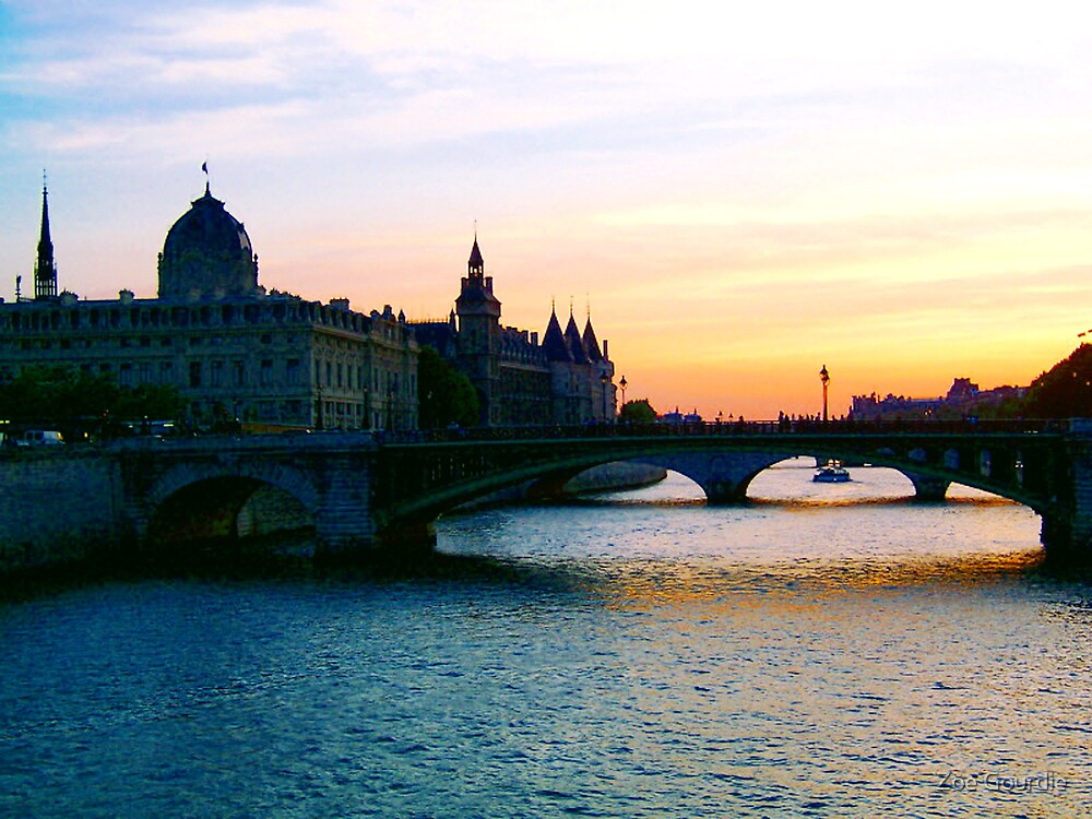 French Sunset by schizomania