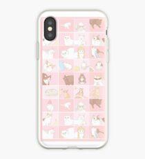 Meme cats iPhone Case