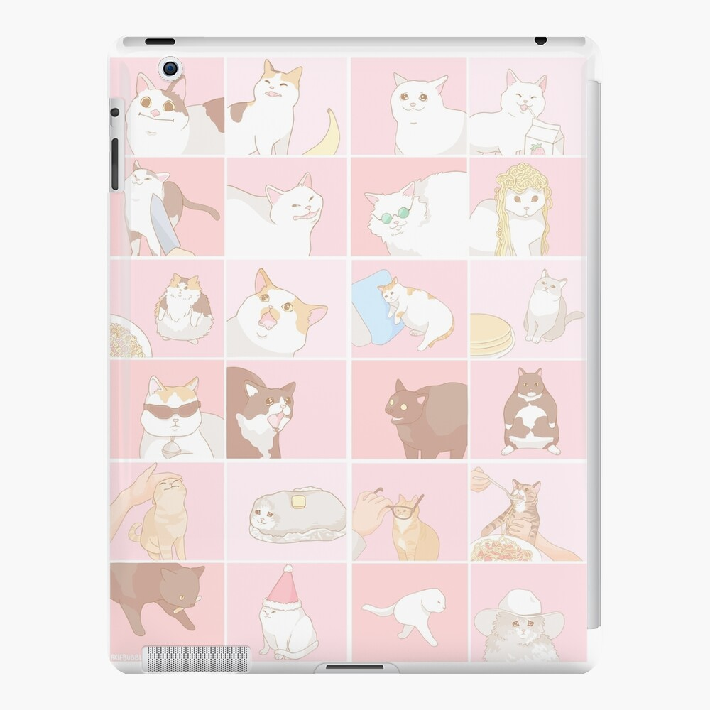 Meme cats iPad Case & Skin