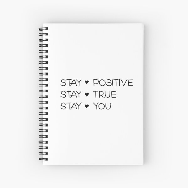 Stay YOU! Spiral Notebook