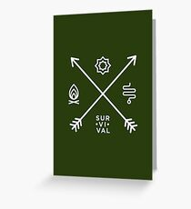 WoW Brand - Survival Hunter Greeting Card