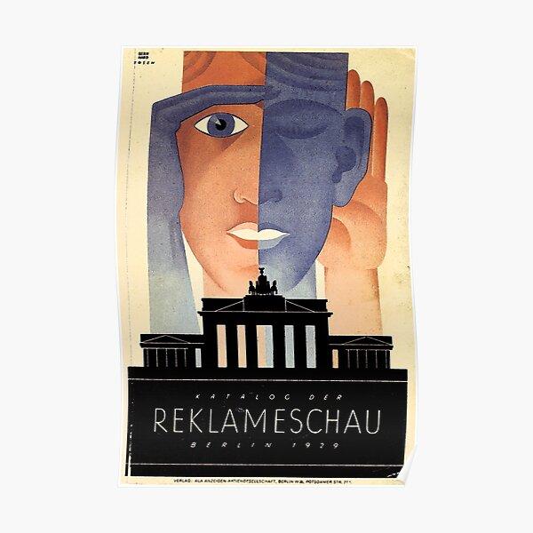 Berlin 1929 Advertising Show  Poster