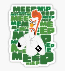 Meep Fella Sticker