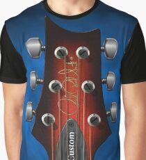 GUITAR HEADSTOCK ART - PRS CUSTOM Graphic T-Shirt