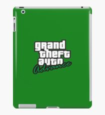 Grand Theft Auto Advance Logo iPad Case/Skin