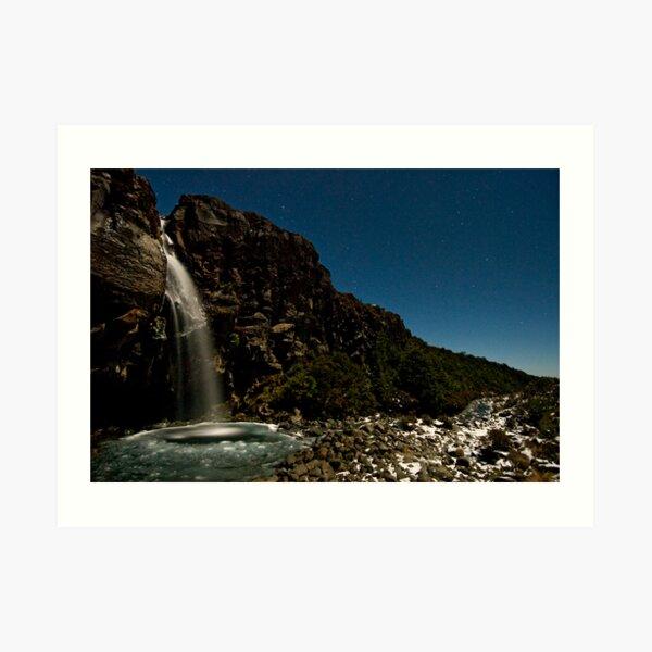 Taranaki Falls. Art Print