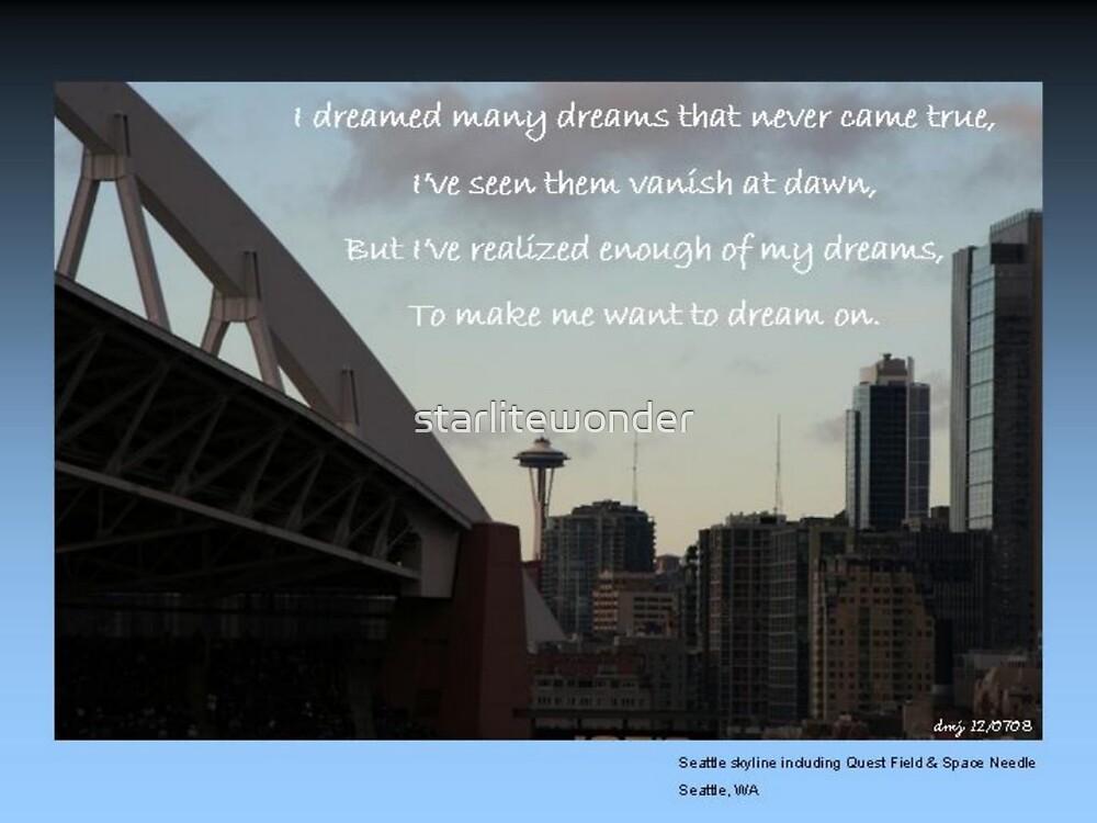 I've Dreamed Many Dreams by starlitewonder