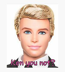 Ken Doll Photographic Print