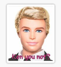 Ken Doll Sticker