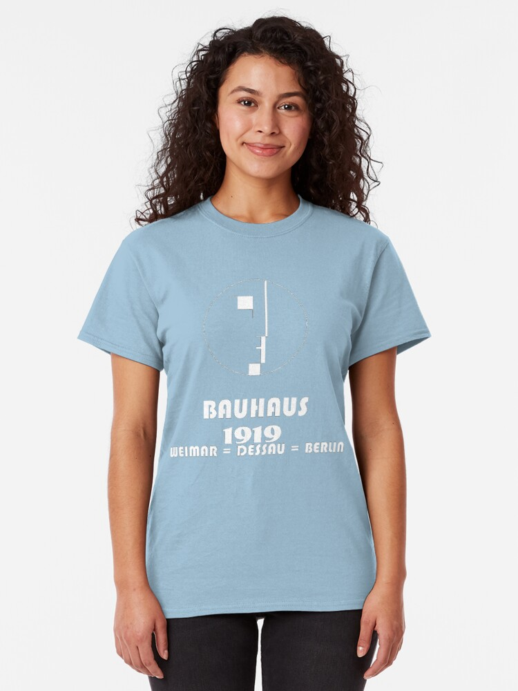 Alternate view of Bauhaus Original 1919 Logo Classic T-Shirt