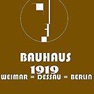 Bauhaus Original 1919 Logo by edsimoneit