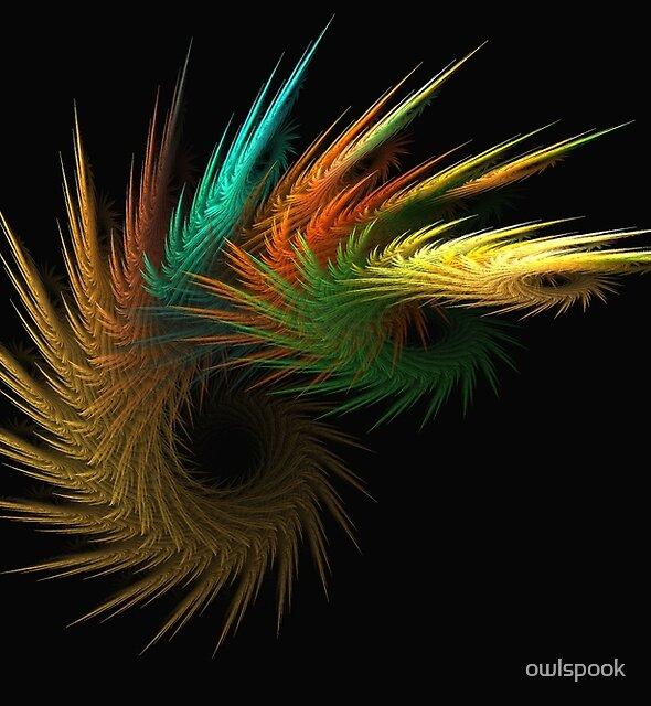 Feather Fan Dance by owlspook