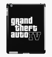 Grand Theft Auto IV logo iPad Case/Skin