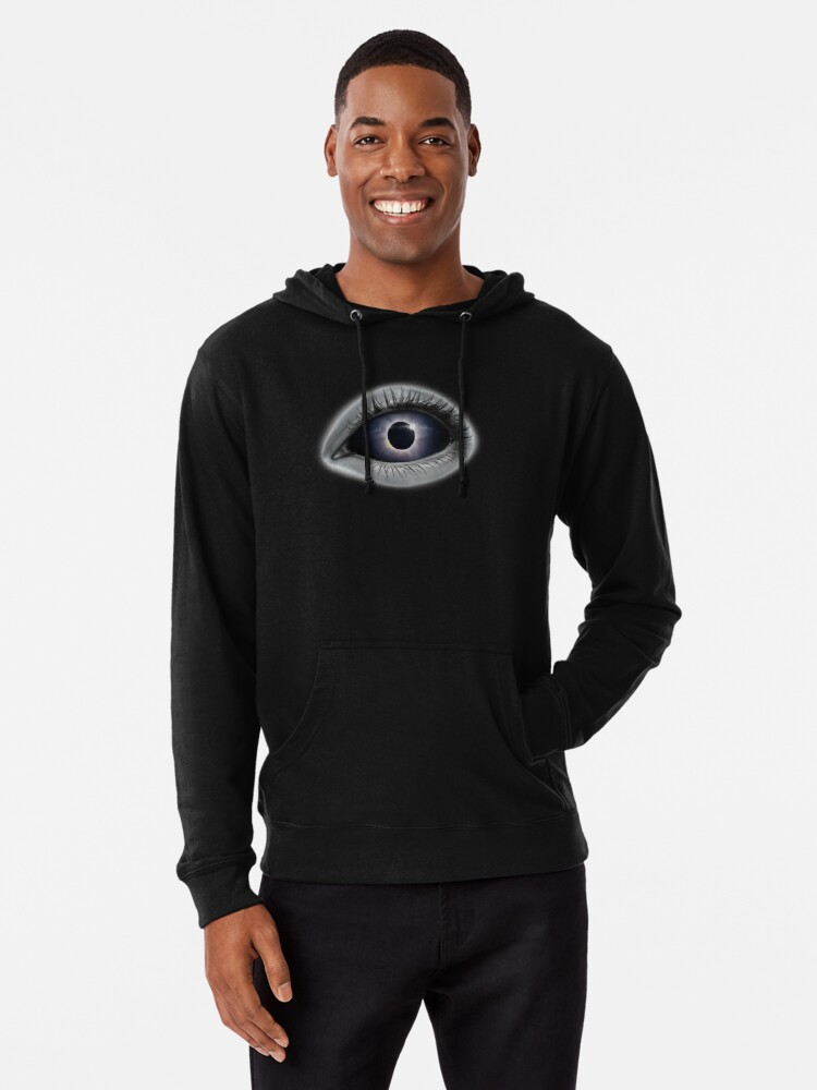 Alternate view of Eye of the Ka  Lightweight Hoodie