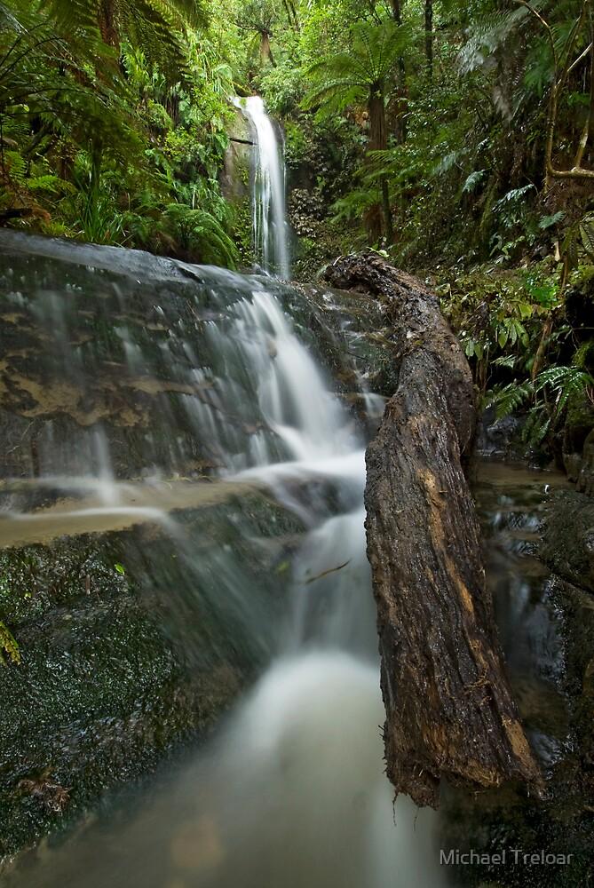 Forgotten Waterfalls. by Michael Treloar