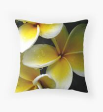 Frangipane Throw Pillow