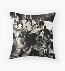 2009 Rams Throw Pillow