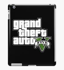 Grand Theft Auto V logo iPad Case/Skin