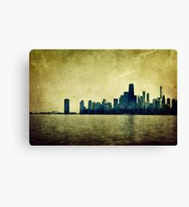 I Will Find You Down the Road Where We Met That Night Canvas Print