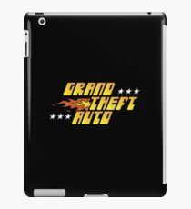Grand Theft Auto Logo iPad Case/Skin