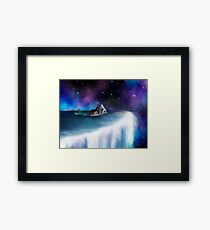 Mermaid at the Edge of the World Framed Print