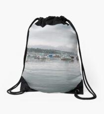 Lobster Fleet Drawstring Bag