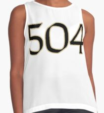 New Orleans LYFE the 504!!! Contrast Tank