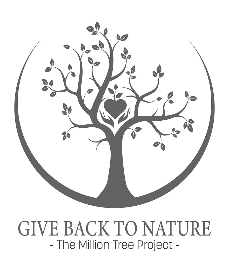 Give Back to Nature -  Grey Logo by Patrick Di Fruscia