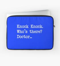 Knock-Knock 1 Laptop Sleeve