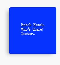 Knock-Knock 1 Canvas Print