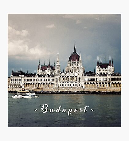 Hungarian Parliament in Budapest Photographic Print