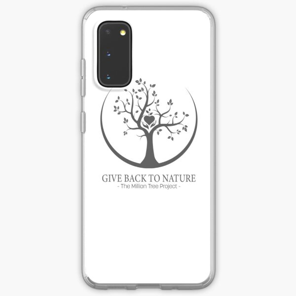 Give Back to Nature -  Grey Logo Samsung Galaxy Soft Case