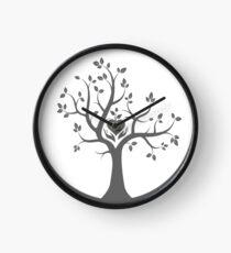 Give Back to Nature -  Grey Logo Clock