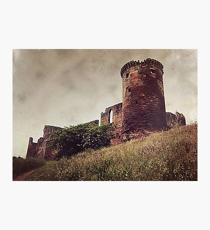 Ruins of Bothwell Castle Photographic Print