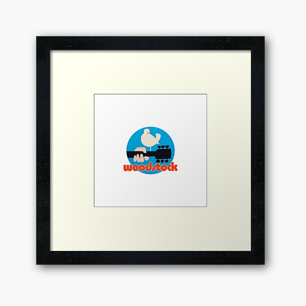 Woodstock  Framed Art Print