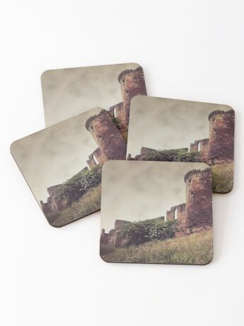 Ruins of Bothwell Castle Coasters
