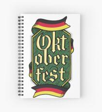 Oktoberfest Spiral Notebook