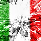 Extruded Flag of Italy by Dr-Pen
