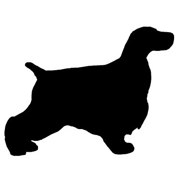 english cocker spaniel silhouette by marasdaughter