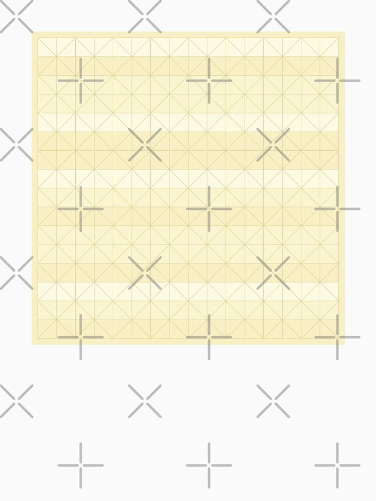 Geometric pattern yellow by PrintablesP