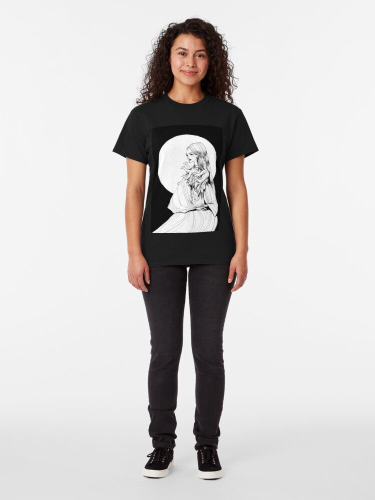 Alternate view of Lady with Ferrets Classic T-Shirt