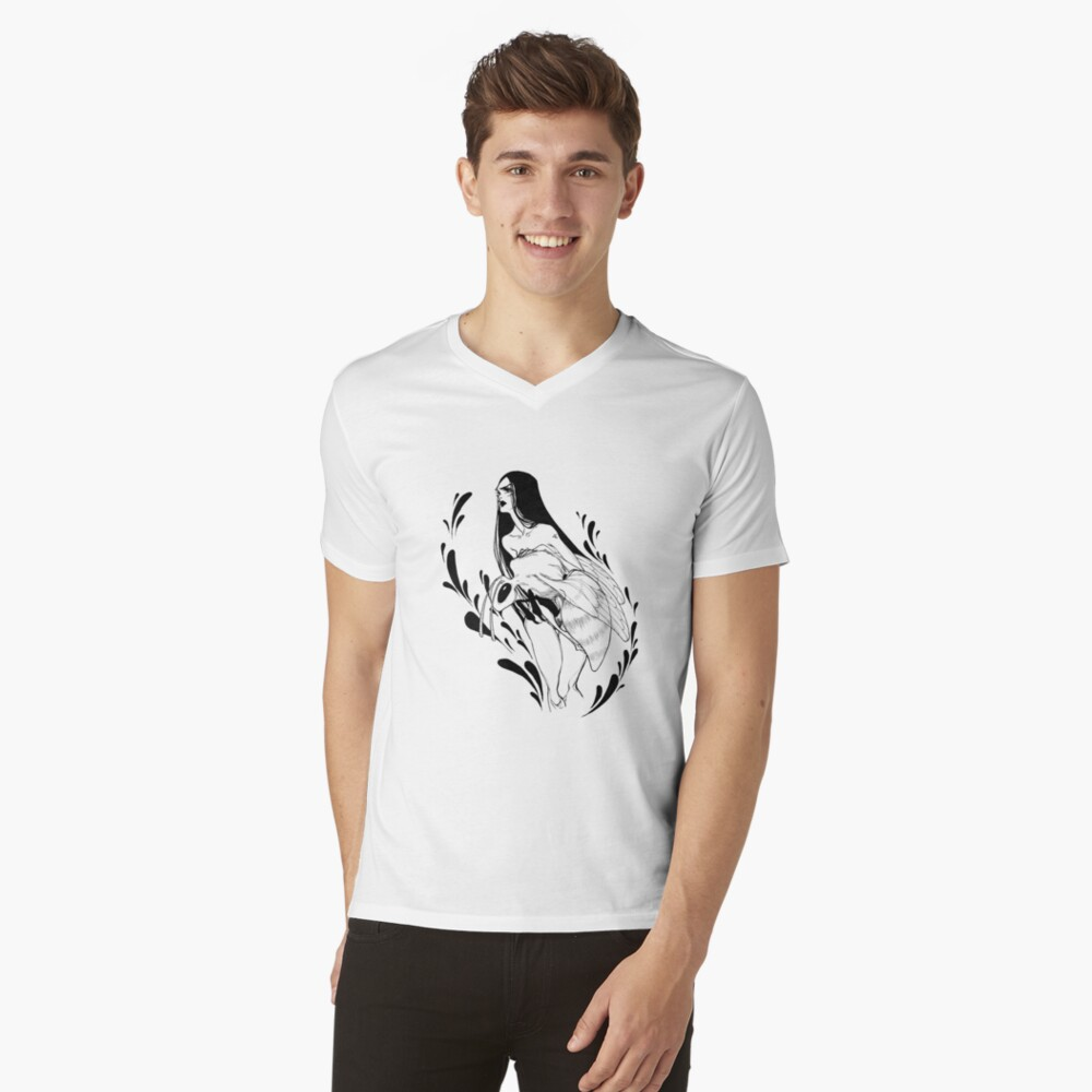 Save the bees V-Neck T-Shirt