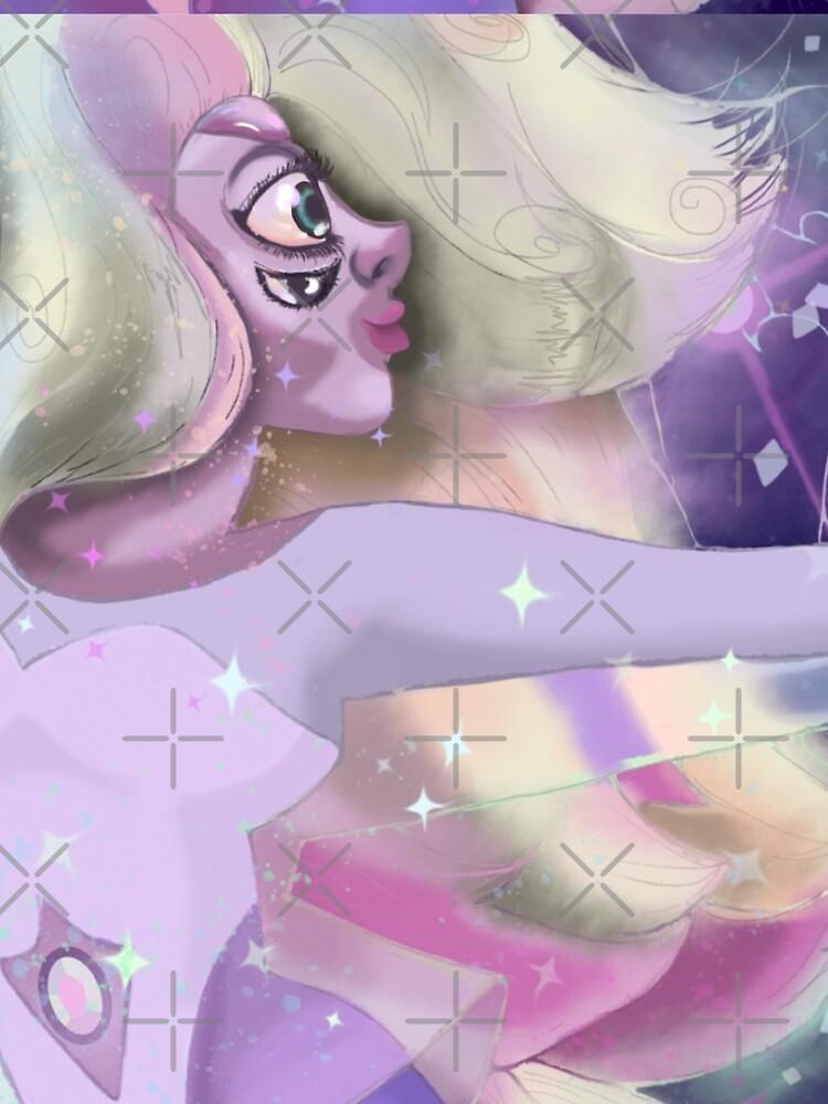 Rainbow Quartz in starlight by thechillmethod