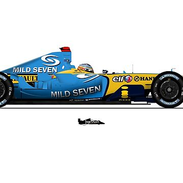 Formula 1 - Fernando Alonso - Renault R25 by JageOwen